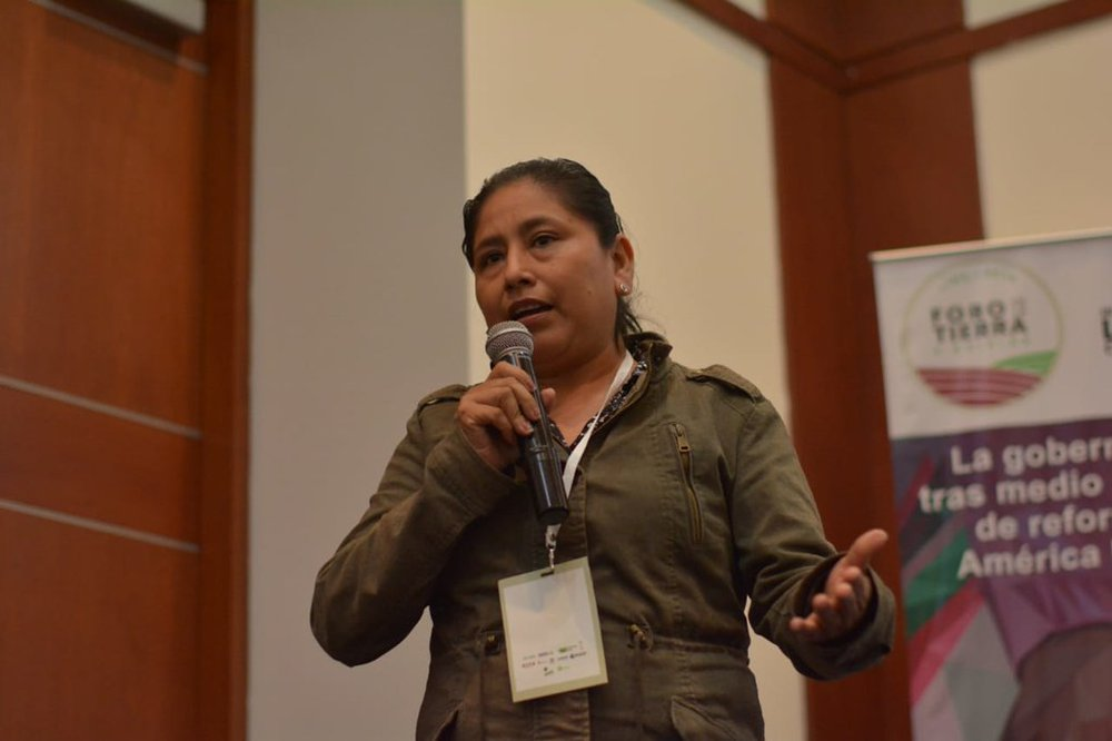 Leiria Vay, directora política del CODECA