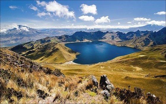 El complejo lacustre de Mojanda es la única fuente de agua de consumo humano en el Cantón Pedro Moncayo.