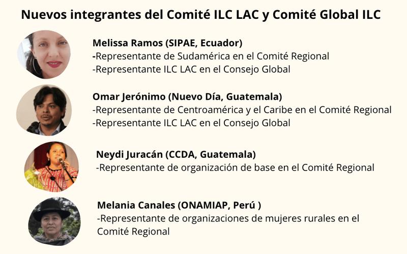 Comité Regional ILC LAC y Comité global