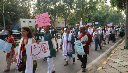Jai Jagat March Delhi