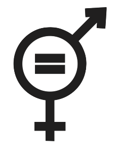 gender equality sign