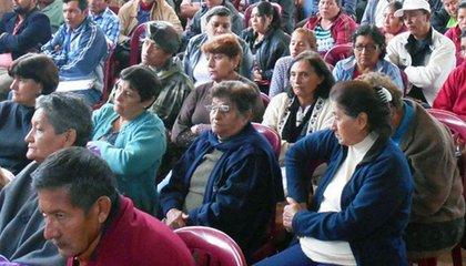 Photo: Productores de Macharetí priorizan propuestas frente al cambio climático en cumbre municipal. Credits: CIPCA Bolivia