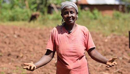 Irene Nyangasi, rural woman in Kenya who needs help to secure her land can not be reached. Israel Bionyi/ILC