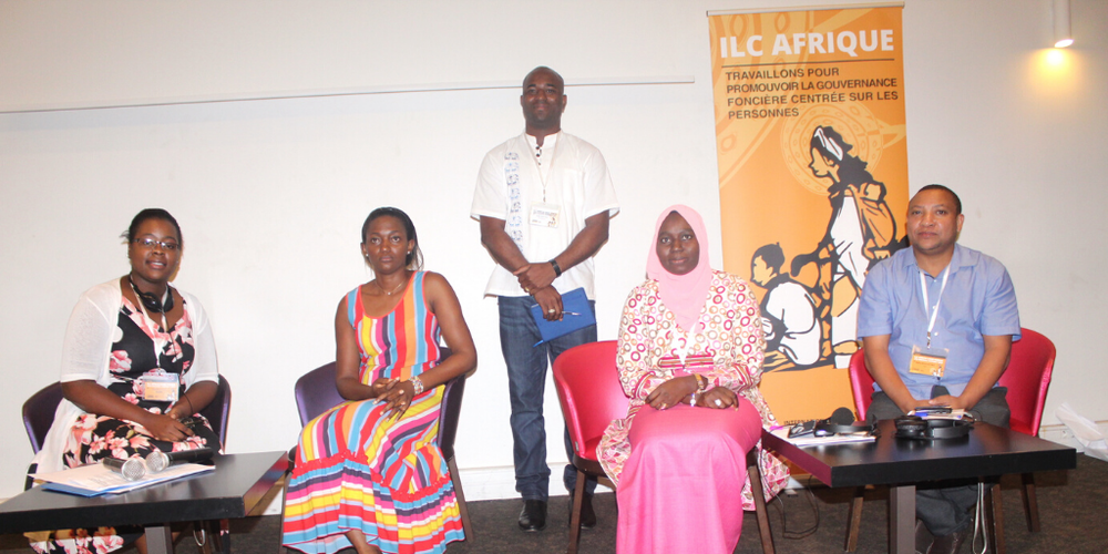 NES facilitators from left: Kate Chibwana, Michelle Sonkoue, Ndéye Yandé Ndiaye and Benard Baha
