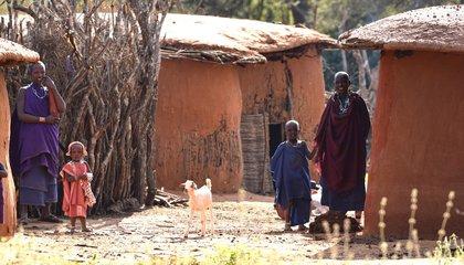 Masaai families_Israel/ILC